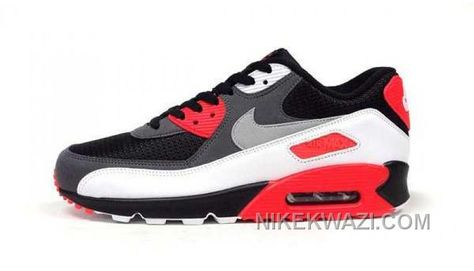 http://www.nikekwazi.com/nike-air-max-90-womens-white-grey-black-red.html NIKE AIR MAX 90 WOMENS WHITE GREY BLACK RED Only $81.00 , Free Shipping!