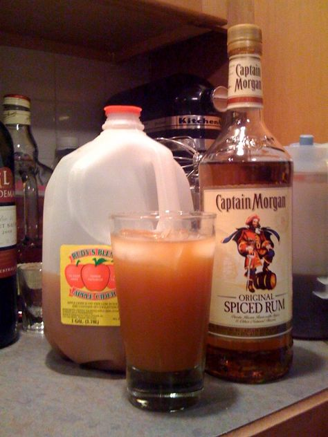 Thankful for Captain Morgan and Apple Cider The Kelleys and the Captain make it happen.