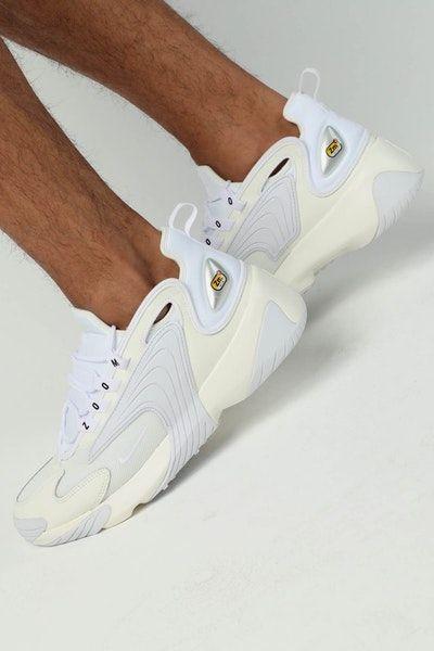 Nike Zoom 2K Off White/White | Nike, Shoes mens, Sneakers nike