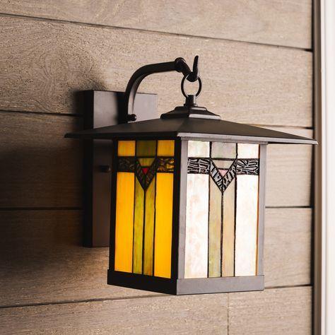 Shop Allen Roth Vistora 11 75 In H Bronze Outdoor Wall Light At Lowes Com In 2020 Outdoor Wall Lighting Wall Lights Outdoor Walls