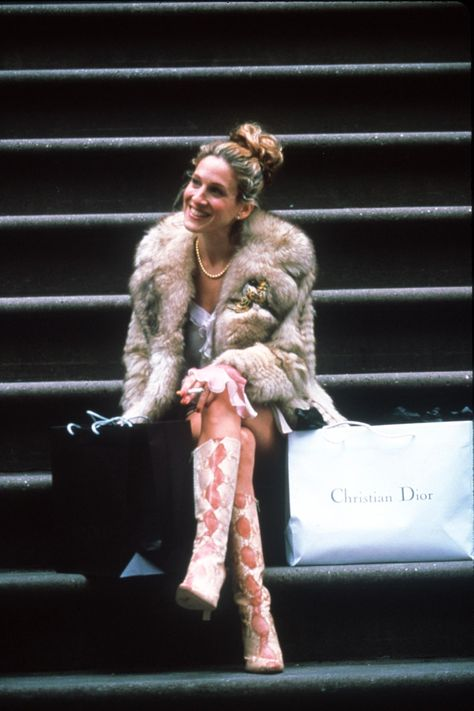 Carrie Bradshaw Steps