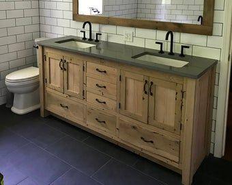 24++ Reclaimed wood vanity 36 ideas