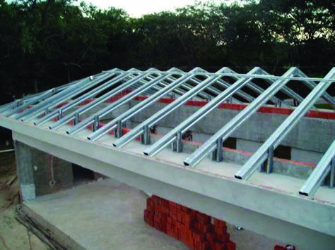 Metal Roofing Homes Tre Roof Framing Roof Truss Design Roof Construction