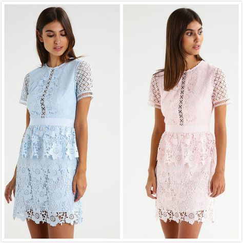 Details About Ted Baker Dixa Layered Lace Skater Dress Baby