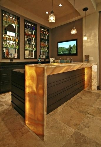 Wet Bars Contemporary Media Room Tampa Veranda Homes Modern Home Bar Bars For Home Home Bar Designs