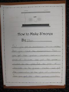First Grade Wow: expository writing