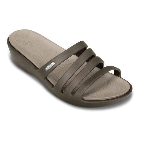 4e4ff1995576 Crocs Rhonda Wedge Sandals - Women
