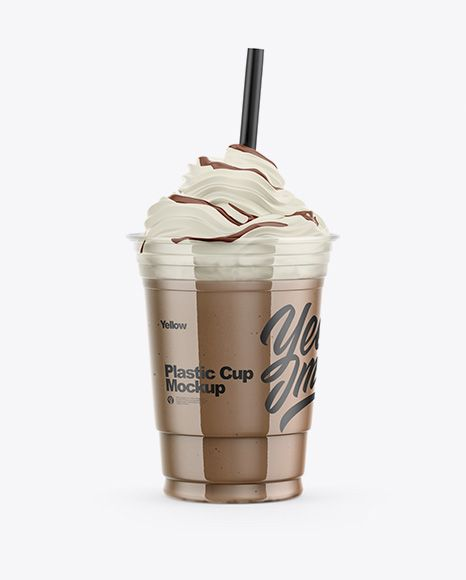 Download Frappuccino Coffee Cup Mockup In Cup Bowl Mockups On Yellow Images Object Mockups Mockup Free Psd Mockup Psd Mockup Yellowimages Mockups