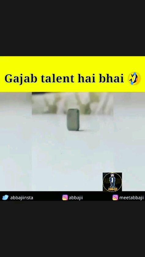 Gajab talent hai bhai🤣