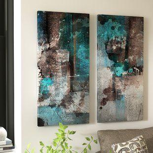 Wall Art You Ll Love Wayfair Art Print Set Abstract Canvas Art Graphic Art Print