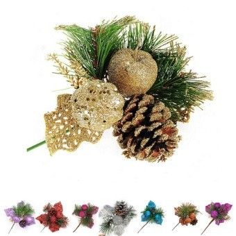 Complete Ornament 1 50 From Lazada Xmas Tree Decorations Cone Christmas Trees Pine Cone Christmas Tree