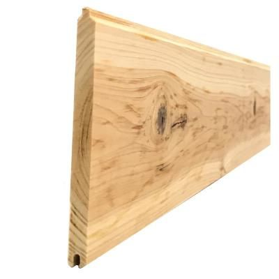 1 In X 6 In X 8 Ft Pattern Stock Cedar Tongue And Groove Siding 6 Pack 168wrctg6pk The Home Depot Cedar Walls Cedar Planks Small Wood Box