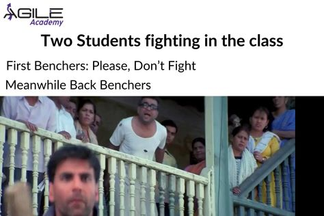 Tag your all #Backbencher Friends . . Like and Comment . . Follow Agile Academy for more awesome posts like this. . Share our page and help us to reach more people. #meme #memes #funnymemes #memestagram #memefactory #memesdaily #students #studentmemes #collegememes #memesworld #herapheri #herapherimemes #phirherapheri #phirherapherimemes #babubhaiya #funnyvideos #raju #akshaykumar #pareshrawal #sunilshetty #offensivememes #memes4days #funnymemesdaily #agileacademy #training #traininginstitute