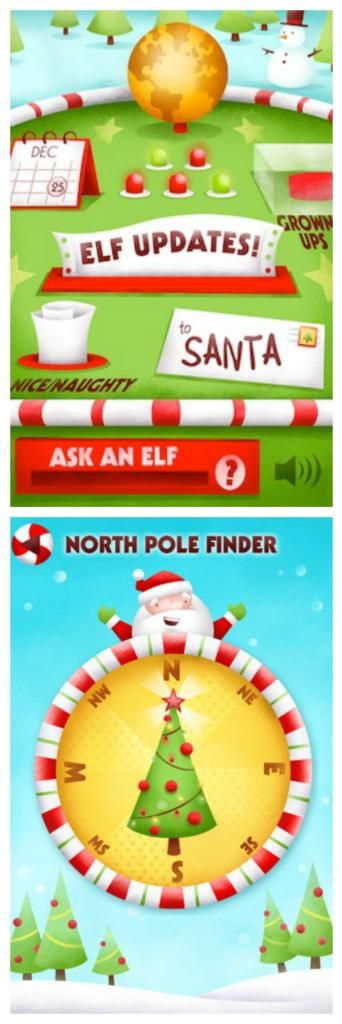 Fun Santa apps: Track Santa's location and get video messages from elves with the Santa's Big Helper 9-in-1 app