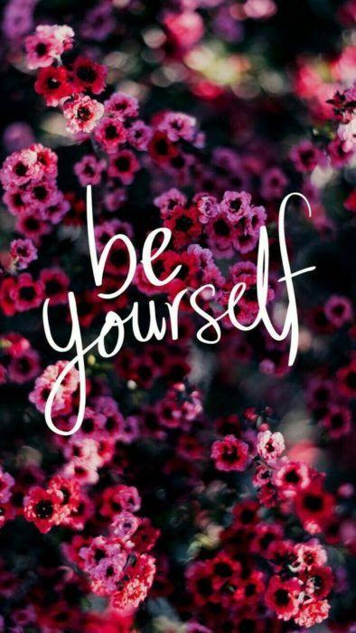 flores y be yourself