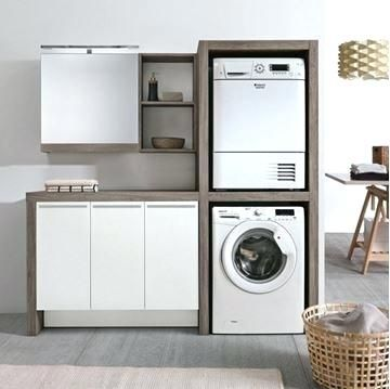 Meuble Colonne Lave Linge Glamour Pour Et Seche The Baltic Post Meuble Buanderie Meuble Machine A Laver Buanderie