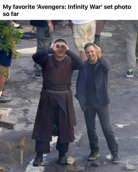 Avengers: Infinity War Set Photos Pit Iron Man Against Doctor Strange