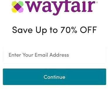 Wayfair Coupon 10 Off Promo Code First Time Customers Only Edelivery Not Mailed In 2020 First Time Promo Codes Coding