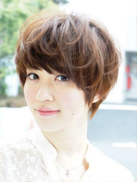 Beste Japanische Kurzhaarfrisuren Frauen