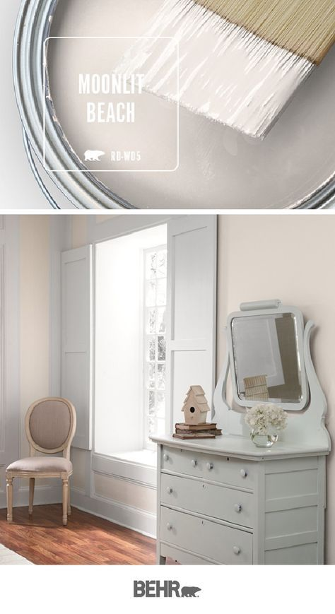 Color Of The Month Moonlit Beach With Images Behr Paint