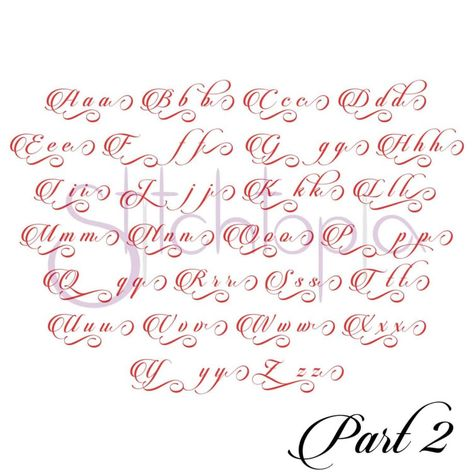 Stitchtopia Faith 2 Monogram Set All Letters b