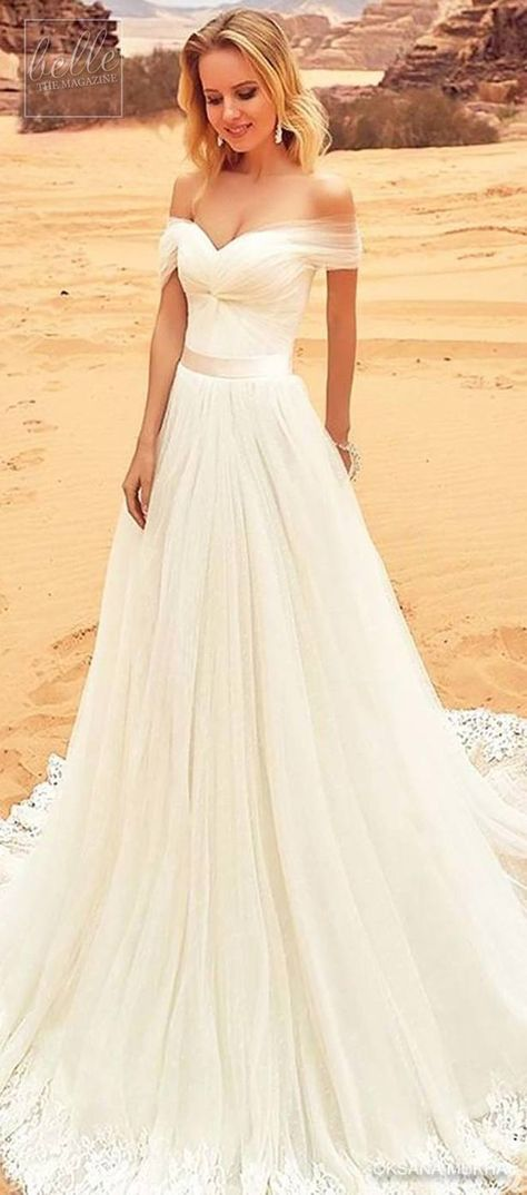 19debe86af Simple Wedding Dress by Oksana Mukha  weddingdress  bridalgown  weddings   bridal