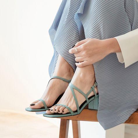 MYLA nude mid heeled shoes
