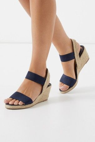 2e02e53f6ad Lipsy Low Espadrille Wedges | Footware in 2019 | Espadrilles, Wedges ...