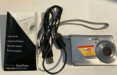 Kodak Easyshare C180 Digital Camera With 10 2 Megapixels Digital Camera Kodak Easyshare Digital