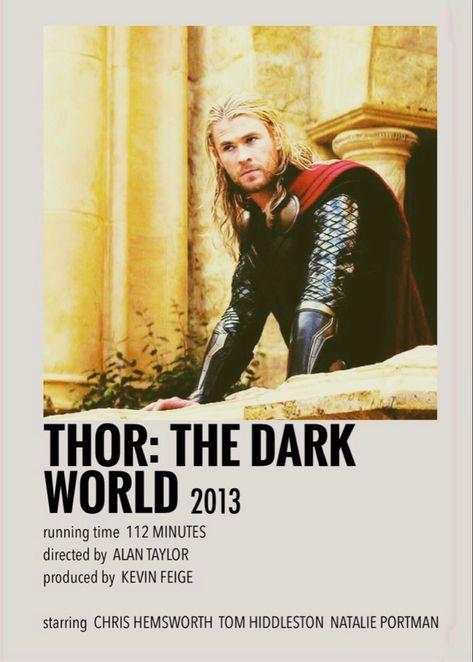 Thor: The Dark World polaroid poster