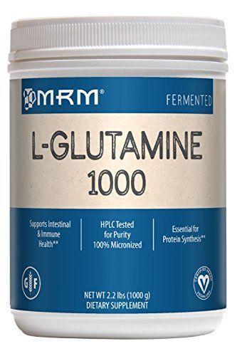 Mrm L Glutamine 1000mg Powder 2 2 Lbs For Sale