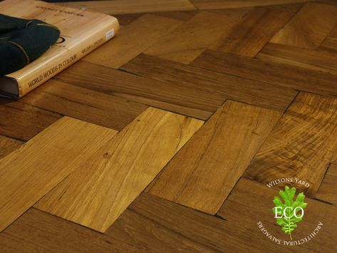 Reclaimed Parquet Wood Flooring Reclaimed From An Irish School