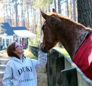 "Horses and mindfulness: How Dill helps me to be ""in the moment."""