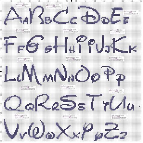 List Of Pinterest Schemi Punto Croce Alfabeto Stampatello Images