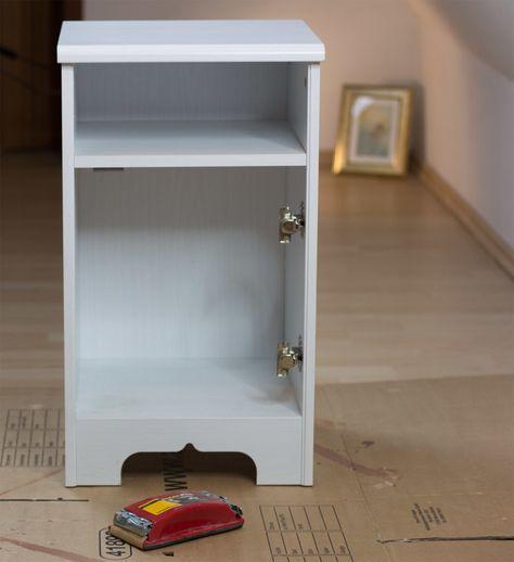 Ikea Hack Furnierte Mobel Mit Kreidefarbe Streichen Furnierte