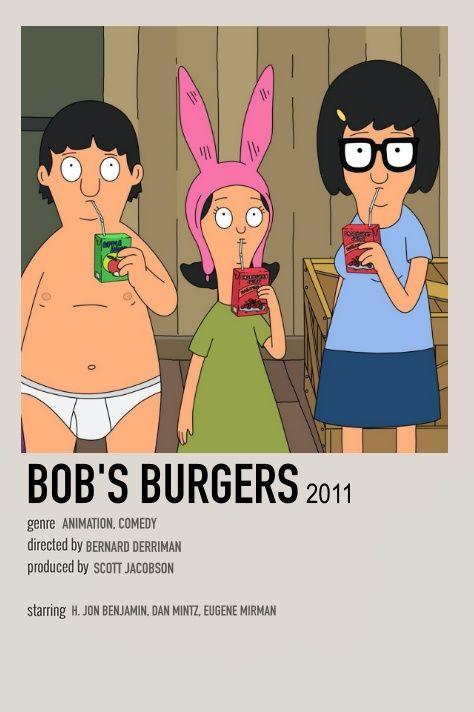 Bob's Burgers Minimalist TV Show Poster