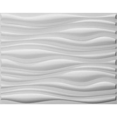 Waves Vinyl Wall Paneling In Brushed Nickel 3d Wall Panels Vinyl Wall Panels Pvc Wall Panels