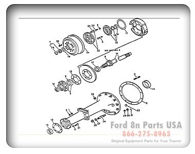 c11e9a8612eb7dd2b1f951f139649ed9 aquaponics tractors ford 8n brake diagram ford 8n 04a02 rear axle shaft and housing ford 8n tractor parts diagram at readyjetset.co