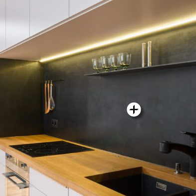 Küchenrückwand brüniertes, gewachstes Stahlblch küche - spritzschutz küche plexiglas