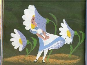 Walt Disney - Alice in Wonderland - Mary Blair - Concept Art Retro Disney, Vintage Disney, Disney Love, Walt Disney, Mary Blair, Sr Pelo, Disney Concept Art, Pixar Concept Art, Disney Artists