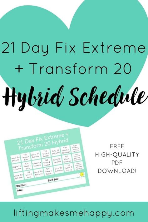 List of Pinterest 80 day obsession calendar hybrid pictures