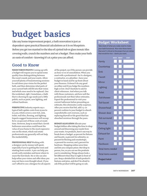 cindy bazzi (bazzi2675) on Pinterest - house renovation budget spreadsheet