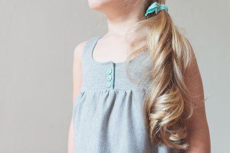 comfy knit dress tutorial...