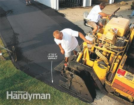 How To Install A Durable Asphalt Driveway Asphalt Driveway Asphalt Paving Contractors Paving Contractors