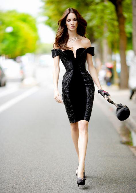 photographer: Mario Sierra Haute Couture, Giorgio Armani, black dress // j-lovesit: Sarah Klassen