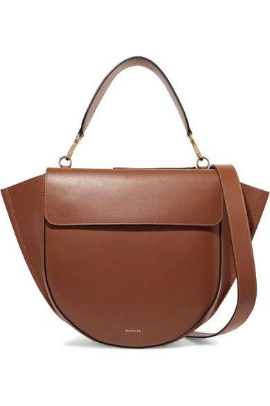 Wandler   Hortensia large leather shoulder bag   NET-A-PORTER.COM