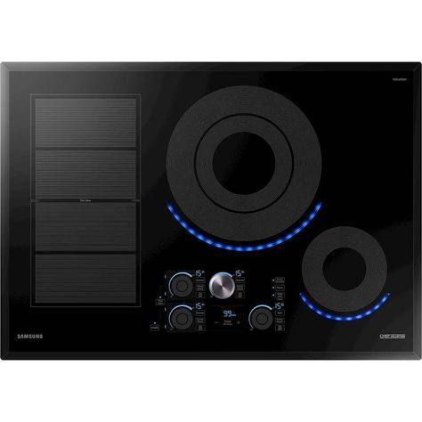 Samsung Chef Collection 36 Electric Induction Cooktop Black Induction Cooktop Cooktop Cooktop Hood
