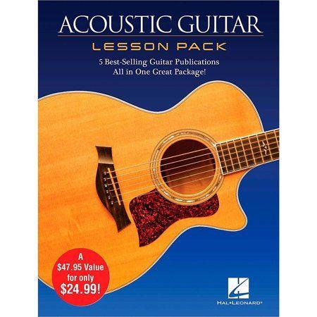 Acoustic Guitar Lesson Pack Walmart Com Acoustic Guitar Lessons Guitar Acoustic Guitar Strap