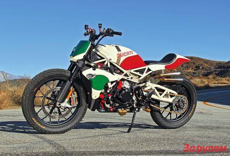 Ducati Desmosedici Street Tracker