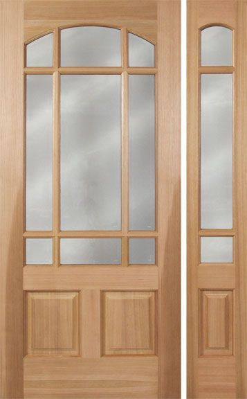 Pradera Cherry Exterior Single Door 1side Solid Wood Doors Exterior Wood Exterior Door Wood Doors Interior
